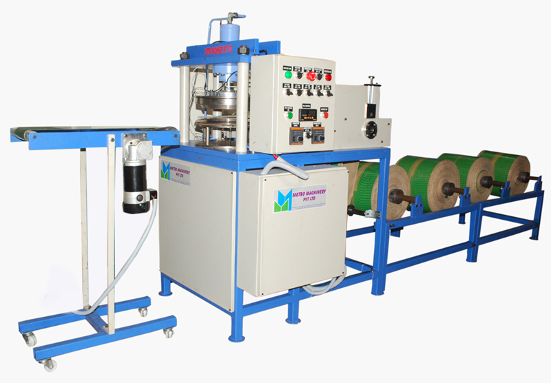 fully automatic paper plate machine  sc 1 st  metromachinery.in & Fully Automatic Paper Plate Making Machine - Metro Machinery
