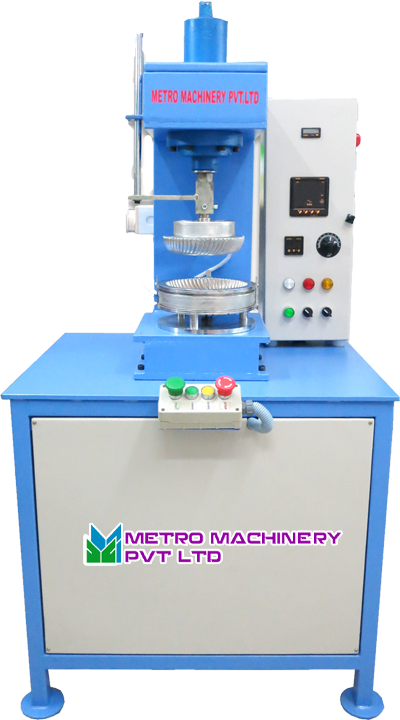 sc 1 st  metromachinery.in & Paper Plate Making Machine - Semi Automatic Paper Plate Machine